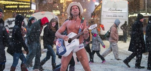 naked-cowboy-sings-snow-storm