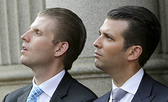 Trump's Sons Fighting Over Which One Gets to be Vice ...